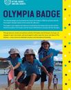 Olympia Badge cover