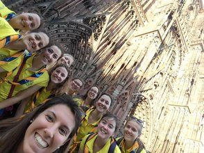 The team in Strasbourg