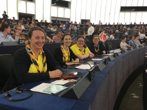 Opening ceremony in the hemicycle