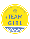 Team girl badge