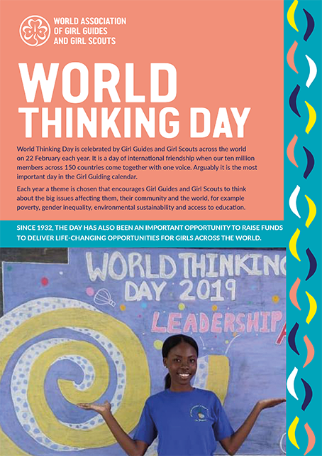 World Thinking Day cover