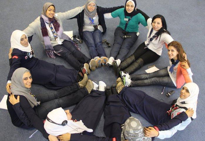 Arab Region young women